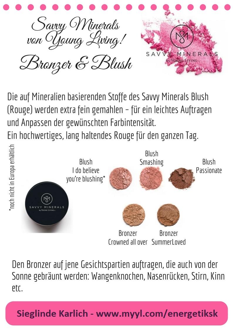 Savvy Minerals Bronzer u. Blush