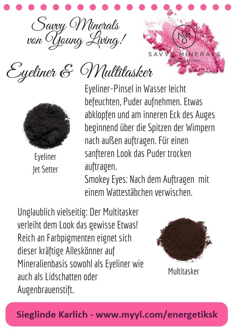 Savvy Minerals Eyeliner u. Multitasker
